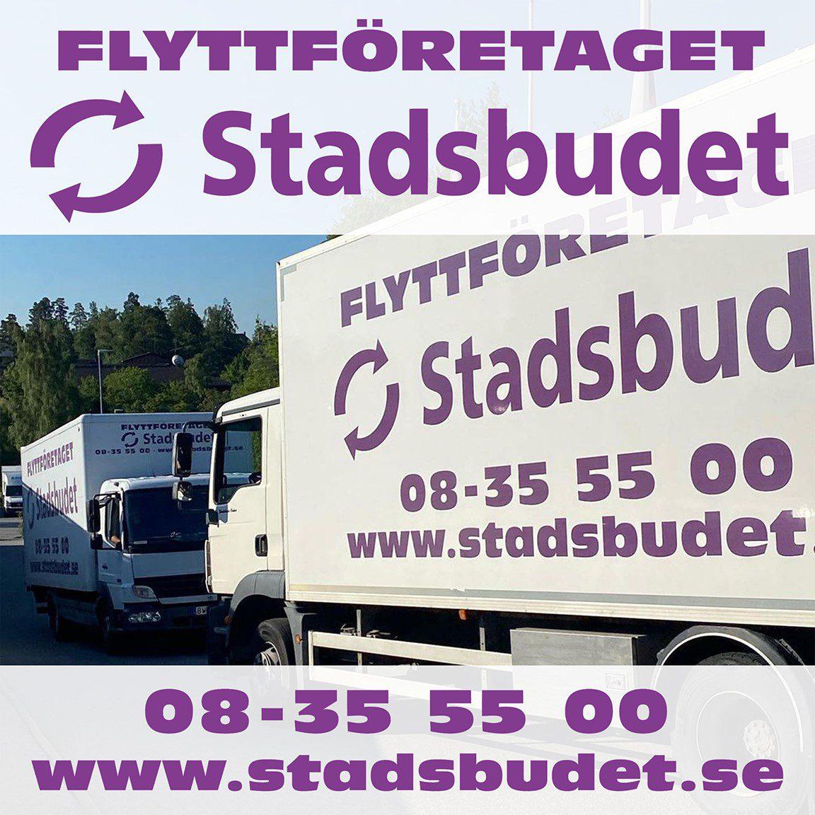 Stadsbudet Sverige är En Flyttfirma I Stockholm